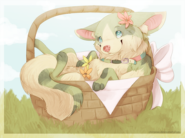 Flower Delivery! by chirpeax