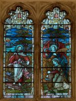 Stained glass window 3 by Textures-and-More
