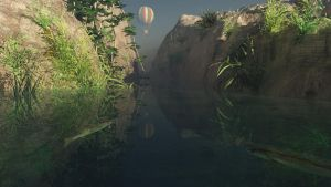 Cliff air balloon by fractal2cry