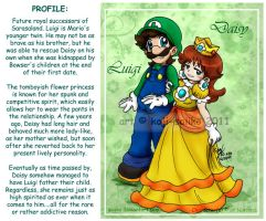 Mario: P7 - Fan-favorite Pairing by saiiko
