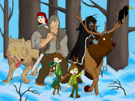 The Fellowship of the Winged Wolf by SpacePirate815