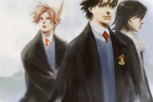 hp - james_sirius_remus by kogepanM