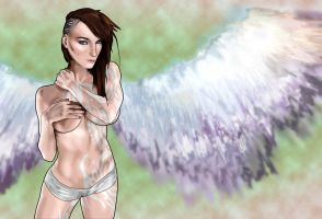 Britanni Johnson Angel by ToxicFlint