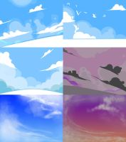 SKY Sketches by GreatKing
