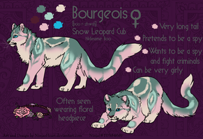 Custom Char- Bourgeois by NinjasHeart