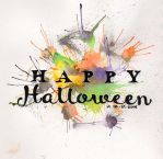 Happy Halloween Hand-Lettering 2015 by MoPotter