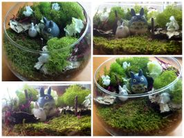 Totoro Terrarium by madster865