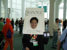 Brain Age Cosplay...damn... by Peepsicle