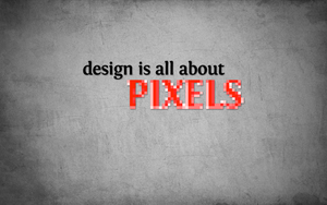 design is all about PIXELS by hooki