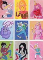 Adventure Time Sketch Cards 2 by LEXLOTHOR
