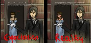 Reaction to Welcome to the Phantomhive Manor by iguanablogger
