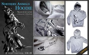 Northern Animals Hoodie by J-C