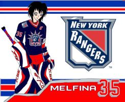 Melfina - New York Rangers by EX388