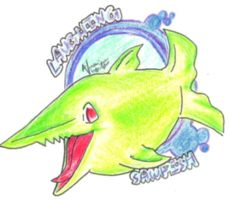 Laughing Sawfish by HappyChupacabra