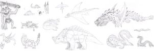 Still More MH Concepts by DinoHunter2