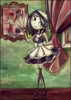 PnF: French maid Bella by HelenFlame