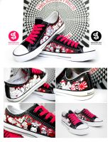 Japan Chucks by Bobsmade