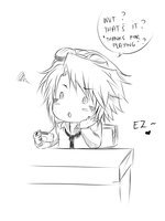 Ezreal playing GBA by Dweynie