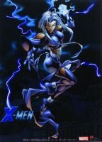 X-men: Storm Wall Scroll by cobra8900