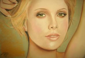 The Talented Charlize Theron by damago