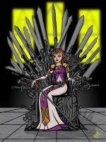 The Iron Throne of Hyrule by thehaloequation