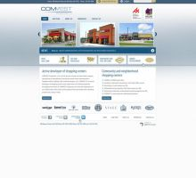 COMVEST Properties LLC Website by HappyCatfishWeb