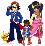 Champions and Future Generations ~Request~ by Xero-J