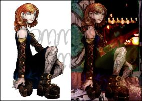 TMI - CLARY SKETCH 3 n 4 by far-eviler