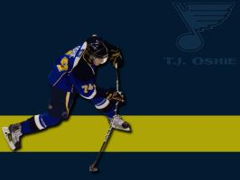 T.J. Oshie by Oultre