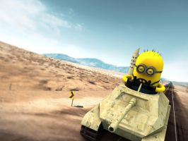 Tank Minion by giacko