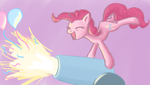 Pinkie and her Party Canon by Bill-the-Pony