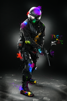 Nike PAINTBALL by Y44n