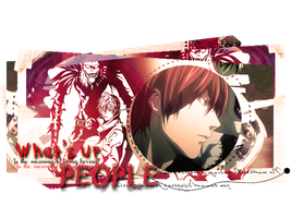 What's up, People - DEATH NOTE by Celkaro