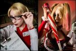 Harleen vs Harley! by Neferet-Cosplay
