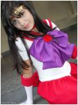 Sailor Mars Cosplay by palchan