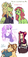 Giant Doodle Dump by Lopoddity