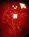 Creeper's Lab - DrCossack Pumpkin 2013 by mediaklepto