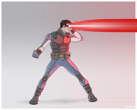 REDESIGN: CYCLOPS by Toks-S