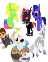 Youtubers Of Mlp Half Pony Or Not Pony by daylover1313