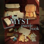 the MYST puzzle book by CassiopeiaArt