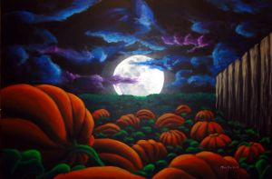Waiting for the Great Pumpkin by temmosus