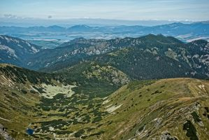 View from Dumbier peak I by minko2312