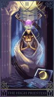 20120111 High Priestess Robot Tarot by ChimeraPathogen