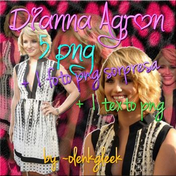 dianna agron png pack by olenkgleek
