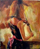 Girl Violinest by JimmyDemello