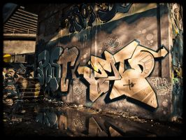 Graffiti At Alsen Planet by sandor99