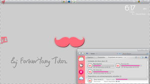 Moustache Screenshot C}: by ForeverYaniYoung