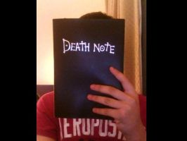 I gawts the Death Note by UnitInfinity