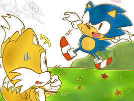 You look different,Sonic... by chippuuuu