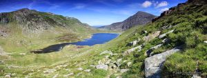 160610 Cwm Idwal pano by InsaneGelfling